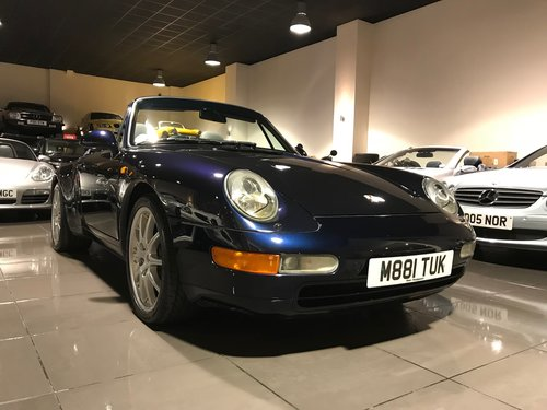 1995 PORSCHE 911 993 CARRERA TIPTRONIC BLUE 18INCH ALLOYS SOLD (picture 4 of 6)