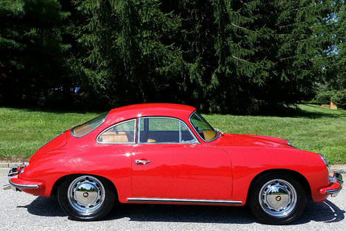 1965 Porsche 356C Coupe SOLD (picture 2 of 6)