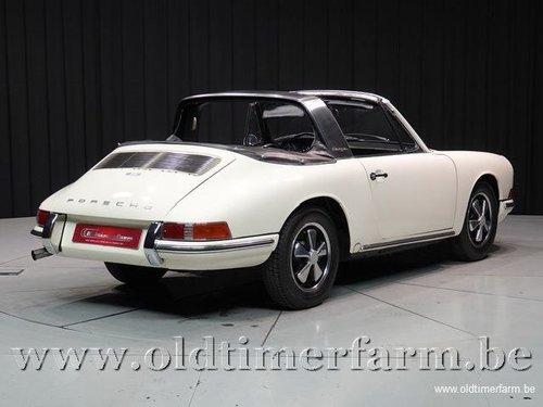1967 Porsche 912 Targa Soft Window White '67 For Sale (picture 2 of 6)
