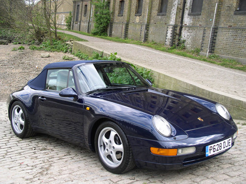 1997 Porsche 911 (993) Carrera 2 (Varioram) Cabriolet  For Sale (picture 1 of 6)