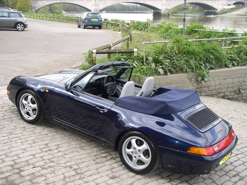 1997 Porsche 911 (993) Carrera 2 (Varioram) Cabriolet  For Sale (picture 2 of 6)