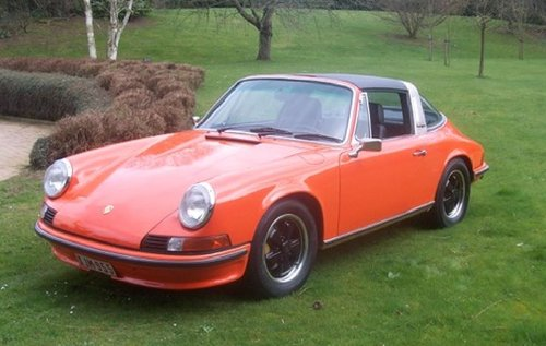 Porsche 2.4 S Targa 1972 fully restored SOLD (picture 1 of 6)
