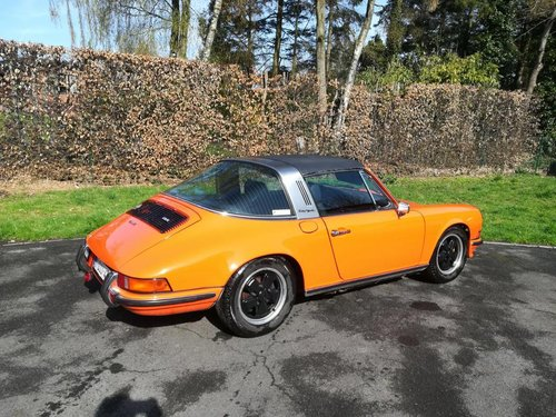 Porsche 2.4 S Targa 1972 fully restored SOLD (picture 3 of 6)