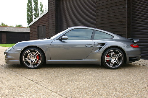 2008 Porsche 997 Turbo 3.6 AWD Manual Coupe (14,930 miles)  SOLD (picture 1 of 6)