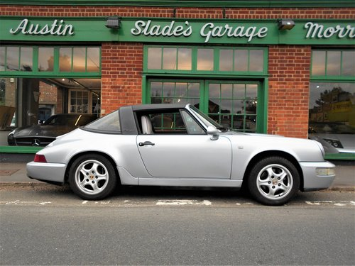 1991 Porsche 911(964)Targa 4 Coupe Manual  SOLD (picture 1 of 6)