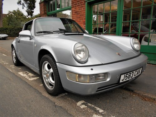1991 Porsche 911(964)Targa 4 Coupe Manual  SOLD (picture 2 of 6)
