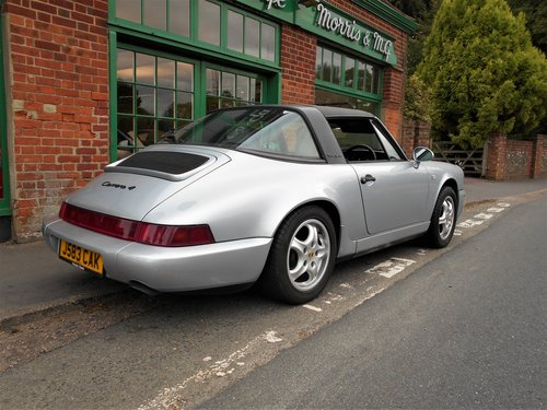 1991 Porsche 911(964)Targa 4 Coupe Manual  SOLD (picture 3 of 6)