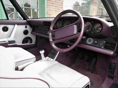 1991 Porsche 911(964)Targa 4 Coupe Manual  SOLD (picture 4 of 6)