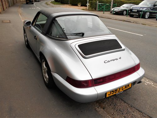 1991 Porsche 911(964)Targa 4 Coupe Manual  SOLD (picture 5 of 6)