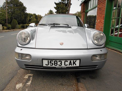 1991 Porsche 911(964)Targa 4 Coupe Manual  SOLD (picture 6 of 6)