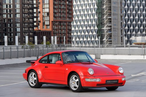 1991 Porsche 964 Turbo 3.3 UK RHD Guards Red 911 SOLD (picture 1 of 6)