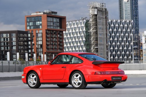1991 Porsche 964 Turbo 3.3 UK RHD Guards Red 911 SOLD (picture 2 of 6)