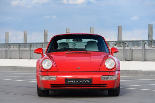 1991 Porsche 964 Turbo 3.3 UK RHD Guards Red 911 SOLD (picture 3 of 6)