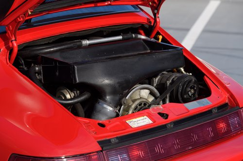1991 Porsche 964 Turbo 3.3 UK RHD Guards Red 911 SOLD (picture 6 of 6)
