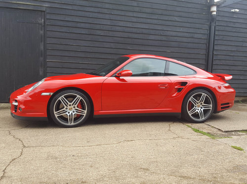 2007 PORSCHE 911/997 3.6 TURBO COUPE Tiptronic S BIG SPEC: Fpsh For Sale (picture 1 of 6)