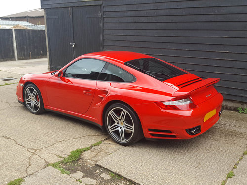 2007 PORSCHE 911/997 3.6 TURBO COUPE Tiptronic S BIG SPEC: Fpsh For Sale (picture 5 of 6)