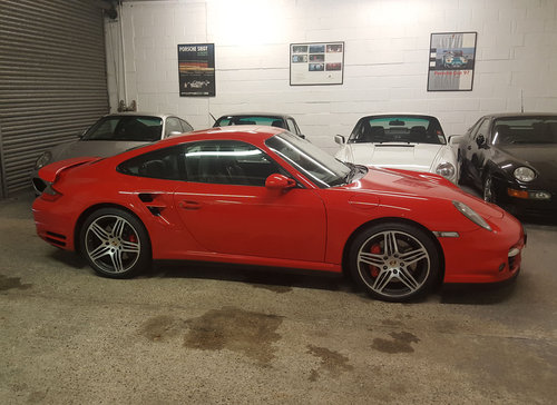 2007 PORSCHE 911/997 3.6 TURBO COUPE Tiptronic S BIG SPEC: Fpsh For Sale (picture 6 of 6)