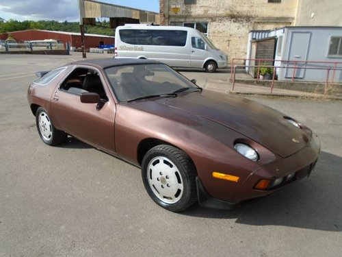 PORSCHE 928 S1 AUTO LHD COUPE(1979)BRONZE RUSTFREE US IMPORT SOLD (picture 1 of 6)