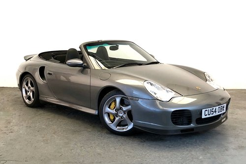 2005 Porsche 996 Turbo S Cabriolet. Low Mileage, Stunning SOLD (picture 1 of 6)