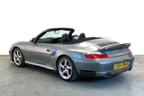 2005 Porsche 996 Turbo S Cabriolet. Low Mileage, Stunning SOLD (picture 2 of 6)