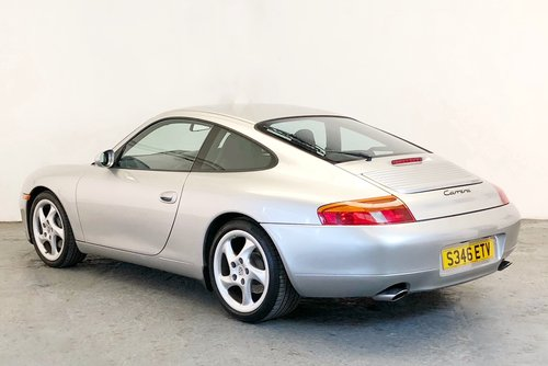 Porsche 996 Carrera with rare Sport Package. 1998 SOLD (picture 2 of 6)