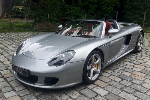 2006 Porsche Carrera GT, 12.619 km from new! For Sale (picture 1 of 6)