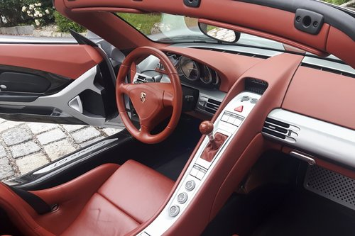 2006 Porsche Carrera GT, 12.619 km from new! For Sale (picture 3 of 6)