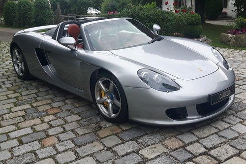 2006 Porsche Carrera GT, 12.619 km from new! For Sale (picture 5 of 6)