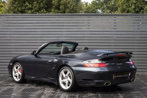 2004 PORSCHE 911 (996) TURBO CABRIOLET SOLD (picture 2 of 6)