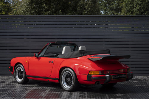 1989 PORSCHE 911 3.2 CARRERA SPORT CABRIOLET G50 For Sale (picture 2 of 6)