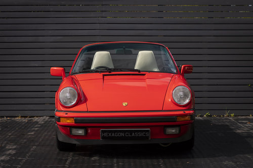 1989 PORSCHE 911 3.2 CARRERA SPORT CABRIOLET G50 For Sale (picture 3 of 6)