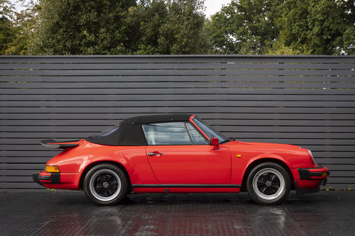 1989 PORSCHE 911 3.2 CARRERA SPORT CABRIOLET G50 For Sale (picture 4 of 6)