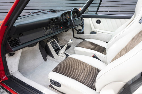 1989 PORSCHE 911 3.2 CARRERA SPORT CABRIOLET G50 For Sale (picture 6 of 6)