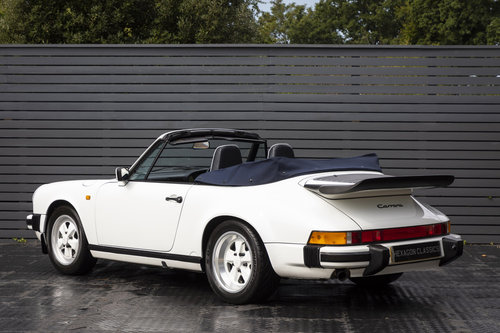 1989 PORSCHE 911 3.2 CARRERA SPORT CABRIOLET  G50 SOLD (picture 2 of 6)