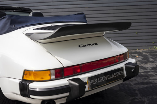 1989 PORSCHE 911 3.2 CARRERA SPORT CABRIOLET  G50 SOLD (picture 6 of 6)