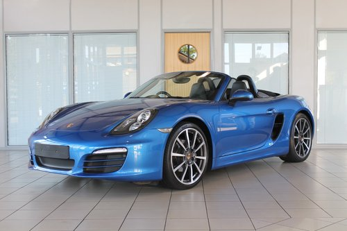 2014/14 Porsche Boxster (981) 2.7 Manual SOLD (picture 1 of 6)