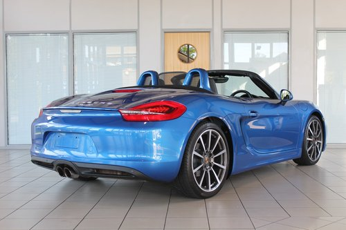 2014/14 Porsche Boxster (981) 2.7 Manual SOLD (picture 2 of 6)