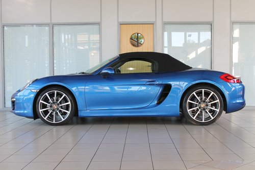2014/14 Porsche Boxster (981) 2.7 Manual SOLD (picture 3 of 6)