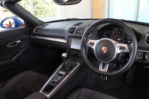 2014/14 Porsche Boxster (981) 2.7 Manual SOLD (picture 5 of 6)