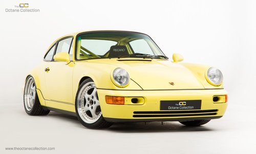 1992 PORSCHE 964 CARRERA CUP // PTS SUMMER YELLOW For Sale (picture 1 of 6)