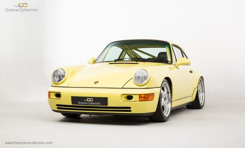 1992 PORSCHE 964 CARRERA CUP // PTS SUMMER YELLOW For Sale (picture 2 of 6)