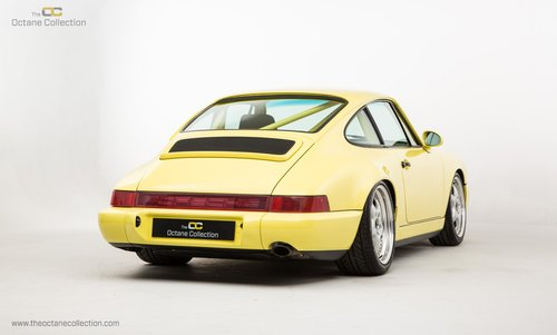 1992 PORSCHE 964 CARRERA CUP // PTS SUMMER YELLOW For Sale (picture 3 of 6)