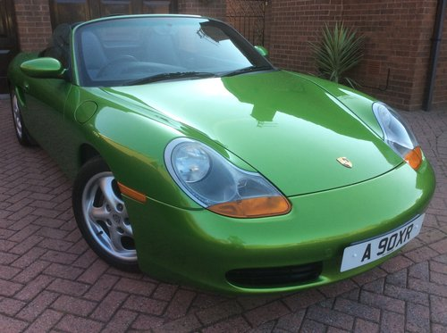 1999 Porsche Boxster 986 with Unique Individual History SOLD (picture 1 of 6)