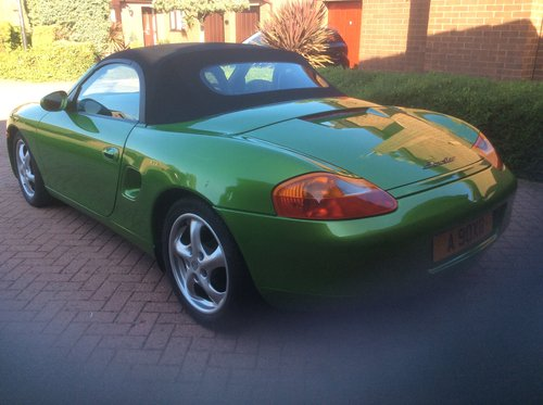 1999 Porsche Boxster 986 with Unique Individual History SOLD (picture 6 of 6)