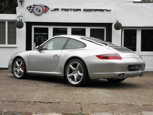 2006 911 (997) 4S (WIDEBODY) Manual Coupe  SOLD (picture 3 of 6)