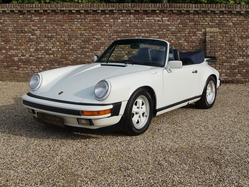 1989 Porsche 911 3.2 Carrera G50 Convertible matching numbers and For Sale (picture 1 of 6)