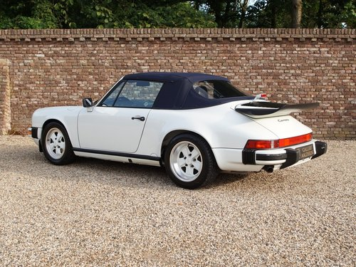1989 Porsche 911 3.2 Carrera G50 Convertible matching numbers and For Sale (picture 2 of 6)