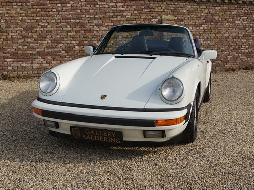 1989 Porsche 911 3.2 Carrera G50 Convertible matching numbers and For Sale (picture 5 of 6)