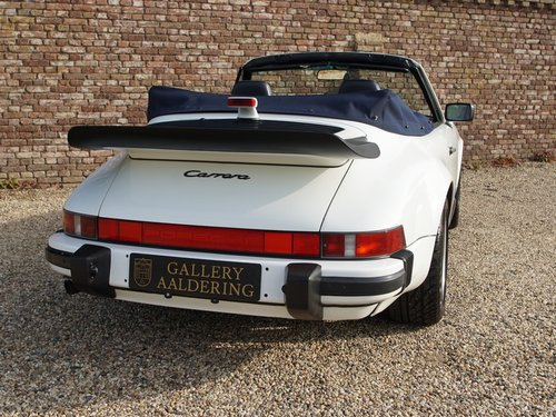 1989 Porsche 911 3.2 Carrera G50 Convertible matching numbers and For Sale (picture 6 of 6)