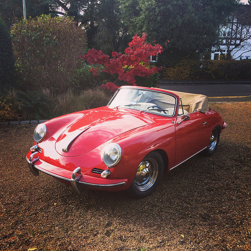Porsche 356B Cabriolet 1959 For Sale (picture 1 of 6)